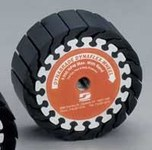 Dynabrade Expander Deburring Wheel - Arbor Attachment - 5 in Diameter - Thickness 1 in - 94564