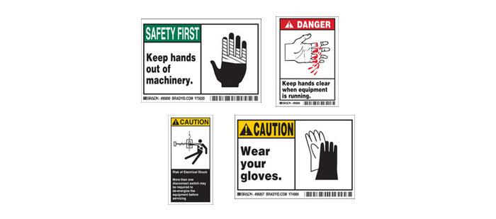 Machine & Equipment Safety Labels