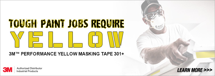 3M 301+ Masking Tape and Disposable Respirators