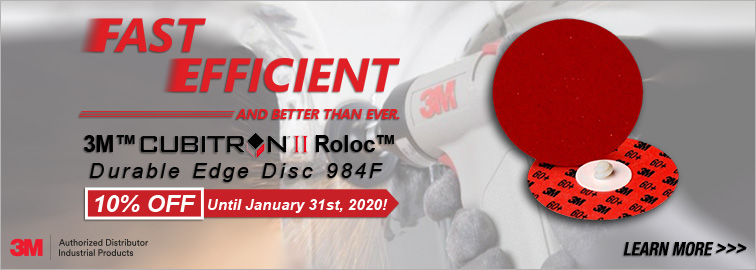 3M Cubitron II 984F Discs