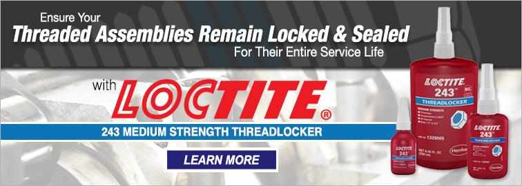 Loctite 243 Medium Strength Threadlocker