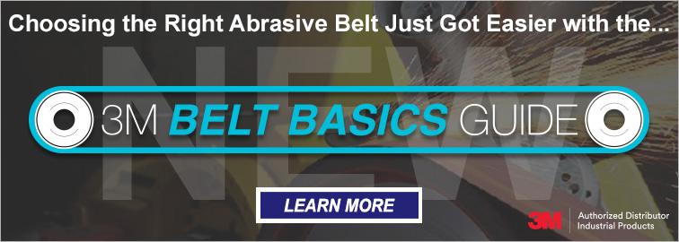 3M Choose the Right Abrasive Belt