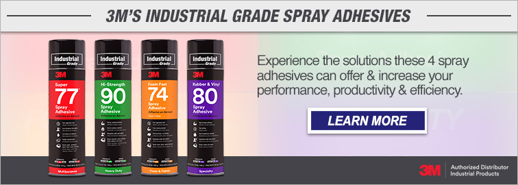 3M Industrial Grade Spray Adhesives