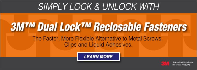 3M Dual Lock Reclosable Fasteners