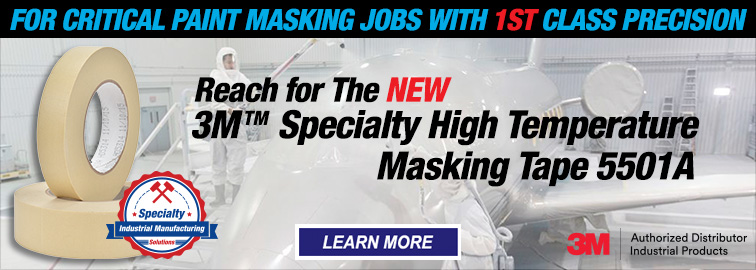 3M 5501A Specialty High Temperature Masking Tapes