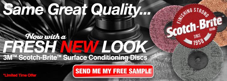 3M Scotch-Brite Surface Conditioning Disc Sampling Program