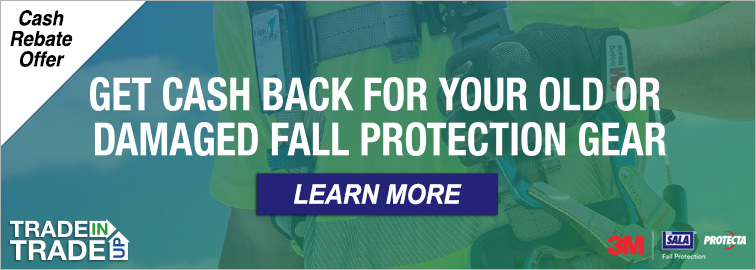 3M Fall Protection Trade-in Trade-up