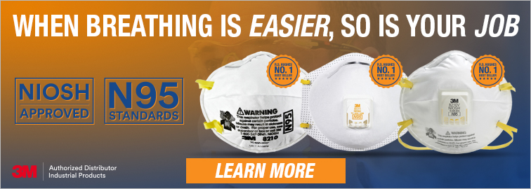 3M N95 Disposable Respirators