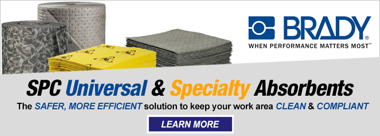Brady SPC Universal and Specialty Absorbents