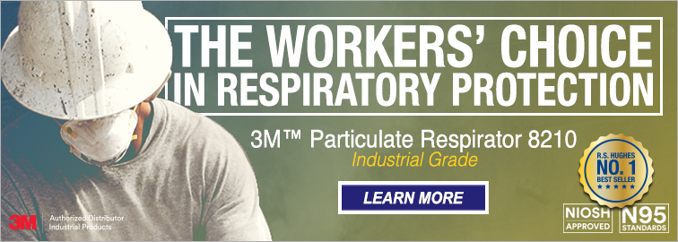 3M 8210 Disposable Respirators