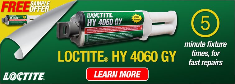 Request a Free Sample of Loctite HY 4060 GY Hybrid Adhesive