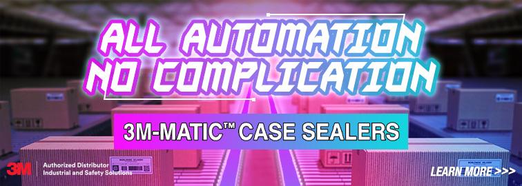 3M-Matic™ Case Sealers