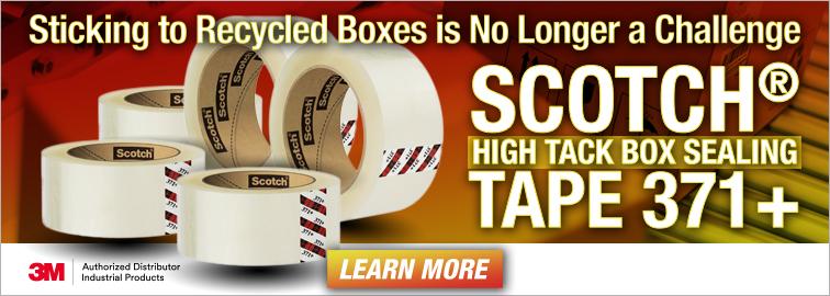 Scotch High Tack Box Sealing Tape 371 Plus Packaging Tape