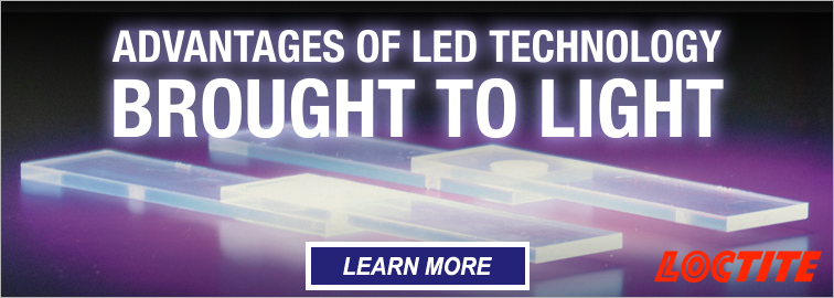 Loctite Light Curing Equipment and Adhesives
