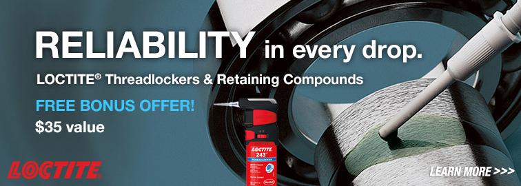 Loctite Free Pro Pump Promotion