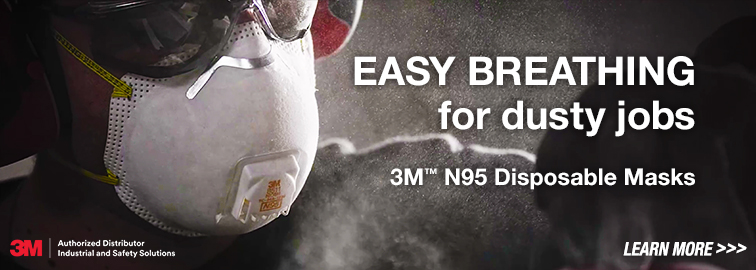 3M N95 Disposable Masks 9205+ & 8511