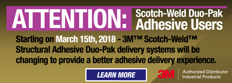 3M Duo-Pak New Structural Adhesive Delivery System