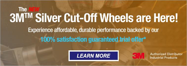 3M Silver Abrasive CutOff Wheel