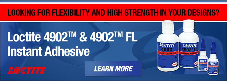 Loctite 4902 and 4902FL Instant Adhesive