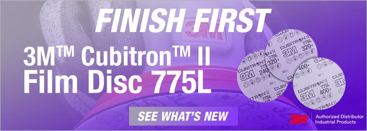 New 3M Cubitron II 775L Abrasive Discs