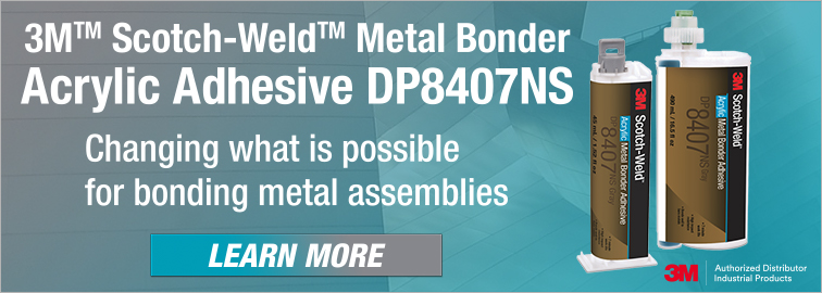 3M DP8407NS Acrylic Adhesive  Metal Bonder