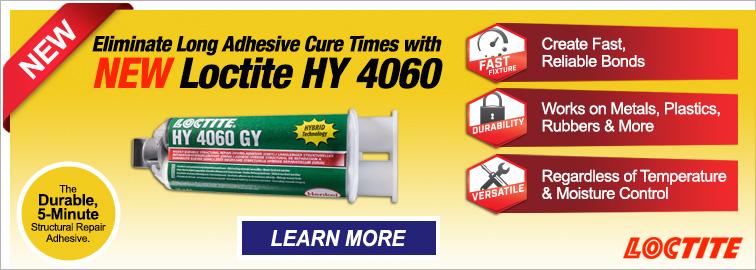 New Loctite HY 4060 Adhesive