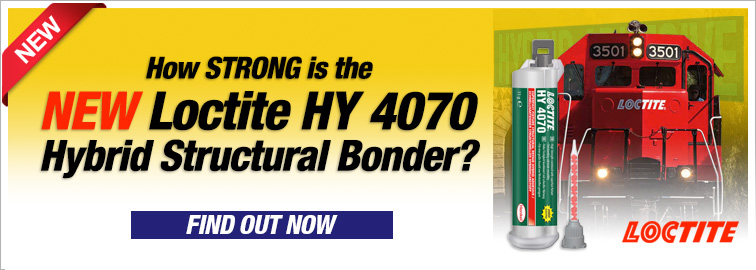 Loctite NEW HY 4070 Hybrid Structural Adhesive