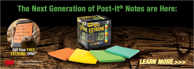 3M Extreme Post-it Notes