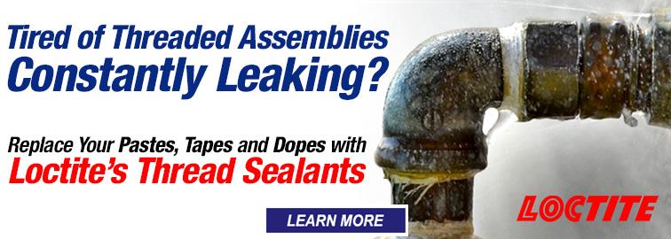 Stopping Leaking Threads Just Got Easier