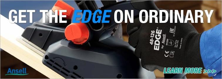 Ansell Edge 48-126 Industrial Work Gloves