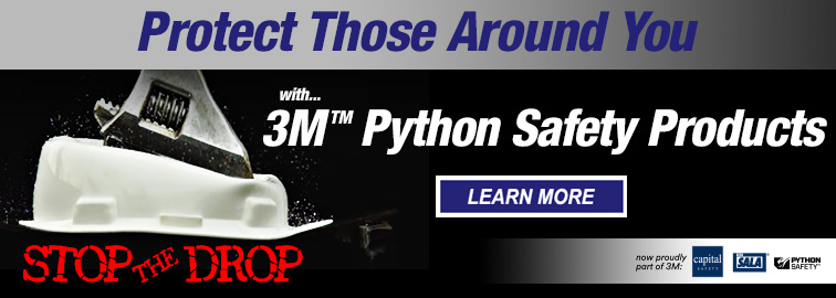Stop The Drop With 3M Fall Protection For Tools