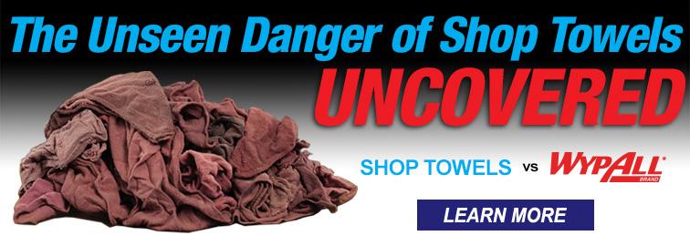 Shop Towels VS. WypAll