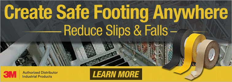3M Safety Walk Anti Slip Tapes and Treads