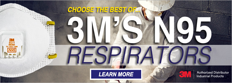Best of 3M's N95 Disposable Respirators