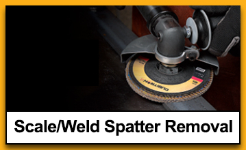 Scale/Weld Spatter Removal