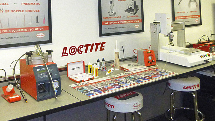 R.S.Hughes Loctite Showroom