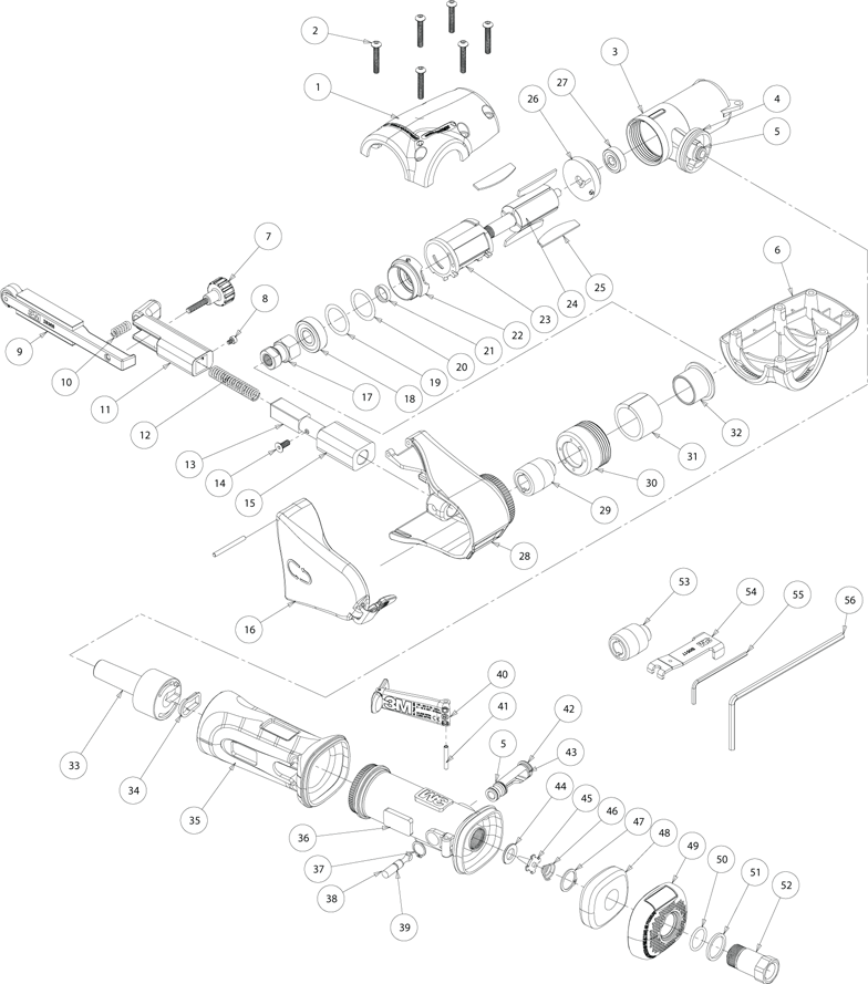 Tool Socket Diagram
