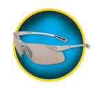 KLEENGUARD® V30 Flexible Eye Protection, Indoor/Outdoor Lens