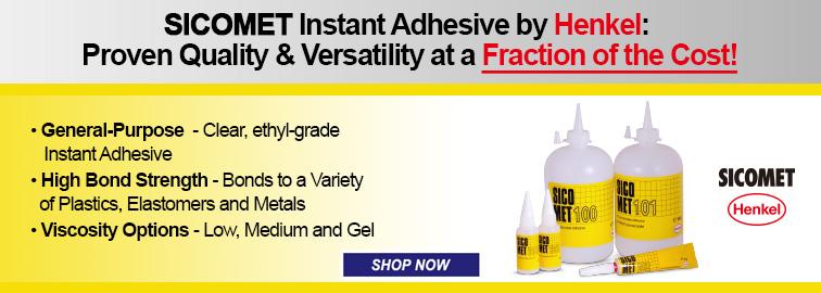 Henkel Sicomet Instant Adhesive, Click for Details