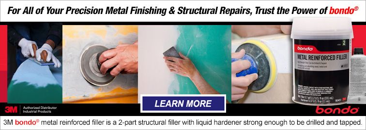 3M bondo Metal Finishing & Structural Repairs, Click for Details