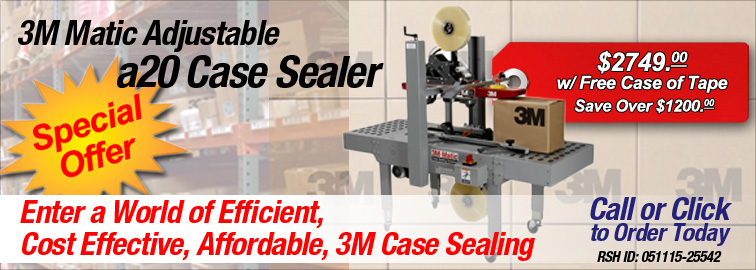 3M a20 Case Sealer, Click for Product