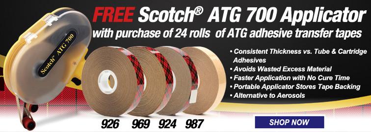 FREE Scotch ATG 700 Applicator, Click for Details
