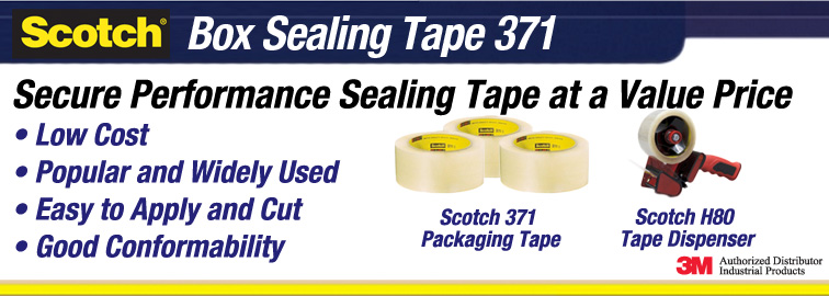 3M 371 Packaging Tapes, Click for Details