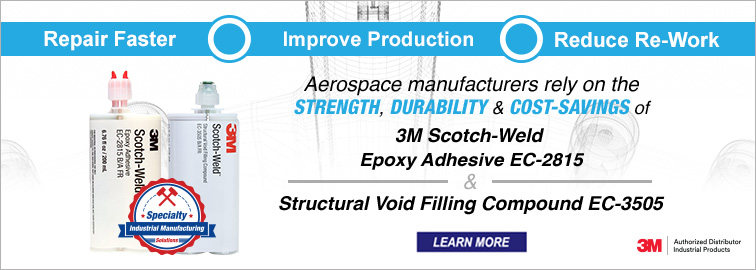 3M Scotch-Weld EC-2815 Adhesive & EC-3505 Structural Void Compound, Click for Details