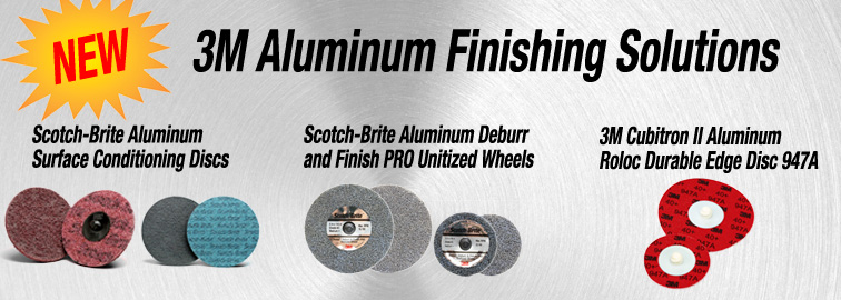 3M Aluminum Finishing Solutions, Click for Details