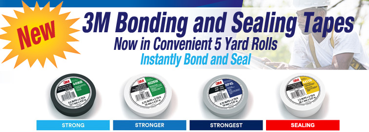 3M Bonding and Sealing Tapes, Click for Details