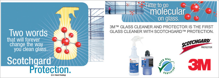 Drag and Drop the 3M Glass Cleaner with Scotch Guard to Your Cart