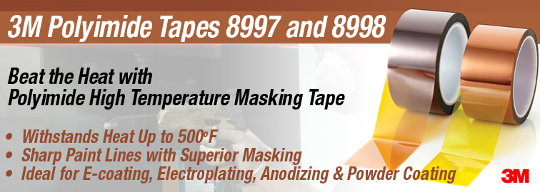 Shop Now for 3M Polyimide Tapes 8997 and 8998, Click for Products