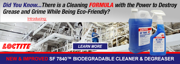 Loctite SF7840 Eco-Friendly Cleaner and Degreaser, Click for Details