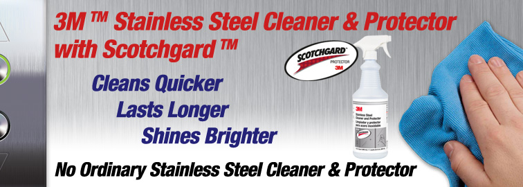 3M Stainless Steel Cleaner and Protector, Click for Details